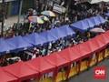 Polda Sarankan Anies Buka Kembali Jalan Tanah Abang