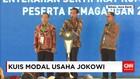 Tak Hanya Sepeda, Presiden Jokowi Juga Berikan Modal Usaha