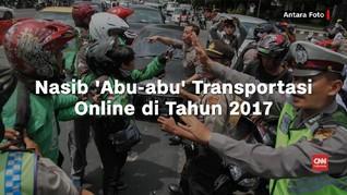 Nasib 'Abu-abu' Transportasi Online di 2017