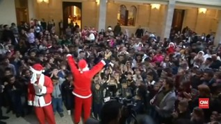 VIDEO: Natal Pertama di Irak Pasca Bebas dari ISIS