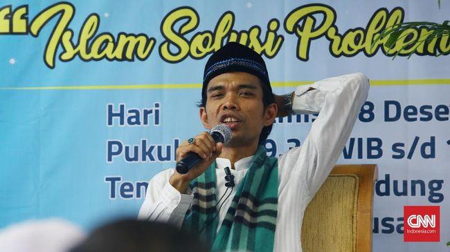 Polisi Minta Ceramah Abdul Somad Tak Bahas Politik
