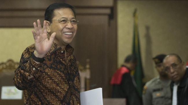 Hakim Akan Putus Kelanjutan Sidang e-KTP Setya Novanto
