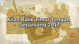 VIDEO: Kilas Balik Timur Tengah Sepanjang 2017