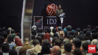 Deklarasi Jokowi Capres 2019 Tak Pengaruhi Kenaikan IHSG