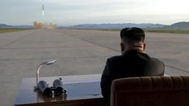 Kim Jong-un Pimpin Langsung Uji Coba Senjata Baru Korut
