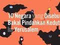 INFOGRAFIS: 10 Negara akan Pindahkan Kedutaan ke Yerusalem