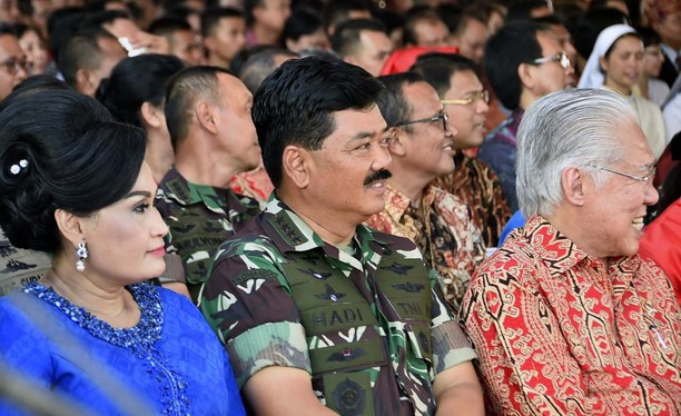 Panglima TNI Hadiri Perayaan Natal Bersama