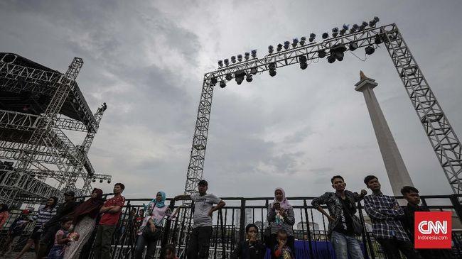 Lokasi Panggung Hiburan Tahun Baru di Jakarta