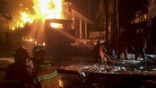 Kebakaran di SPBU Jagakarsa, Polisi Amankan Supir Truk Tangki