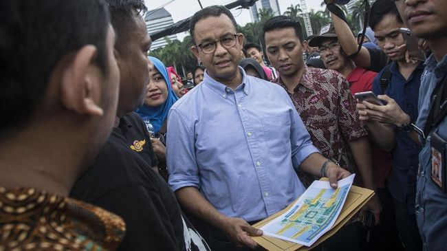 Anies Luncurkan Program CAP 16 Kampung Jakarta