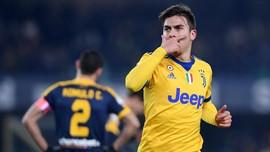 Kalahkan Hellas Verona 3-1, Juventus Tempel Ketat Napoli