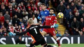 Tanpa Salah, Rekor Gol Tandang Liverpool dalam Ancaman