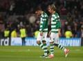 Fabio Coentrao Ribut dengan Rekan Setim di Laga Sporting