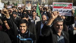 Iran Tahan 8 Orang dalam Unjuk Rasa, Diduga Agen CIA