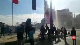 VIDEO: Demonstran Iran Tak Patuhi Perintah Presiden Rouhani