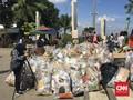 Satu Jam, Pengunjung Ancol Kumpulkan 1 Ton Sampah