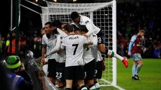 Liverpool Kalahkan Burnley 2-1 Tanpa Coutinho