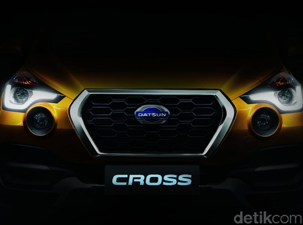 Sebelumnya Datsun memperlihatkan foto bagian depan Cross. Foto: Datsun