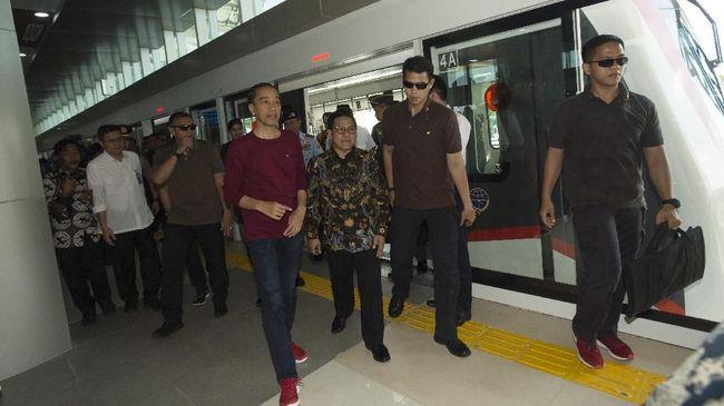 Jokowi Sebut DKI Bisa Subsidi Kereta Bandara Agar Lebih Murah