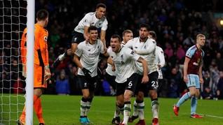 Klopp Puas Liverpool Taklukkan Keangkeran Markas Burnley