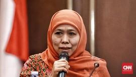 Khofifah Imbau Relawan Tak Tanggapi Kampanye Hitam