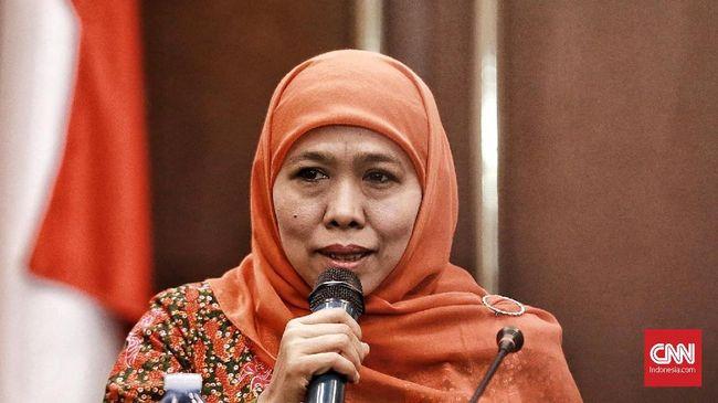 Khofifah Imbau Tak Khawatir Kepulangan Warga Jatim di Natuna