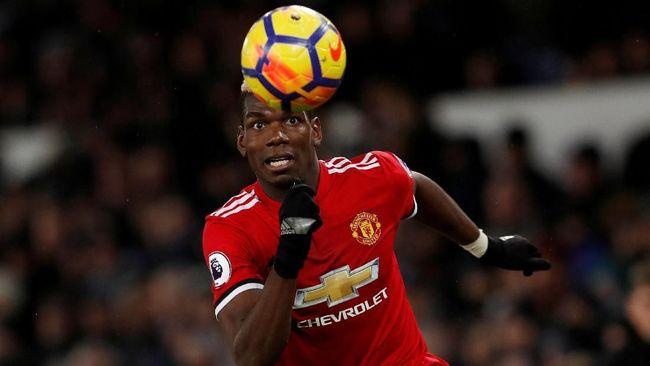 Pogba Terancam Absen di Manchester United vs Liverpool