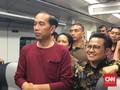 Diresmikan, Jokowi Harap Kereta Bandara Pangkas Kemacetan