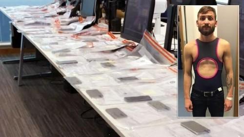 Pakai Baju Renang Wanita, Pria Ini Curi 53 Ponsel Sehari