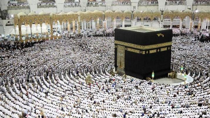 Jamaah Haji di Mekah