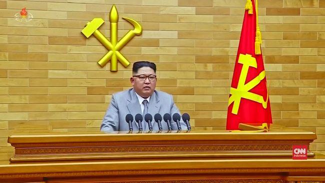 Video Trump Ingatkan Kim Jong Un Soal Tombol Nuklir