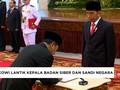 VIDEO: Jokowi Lantik Kepala BSSN