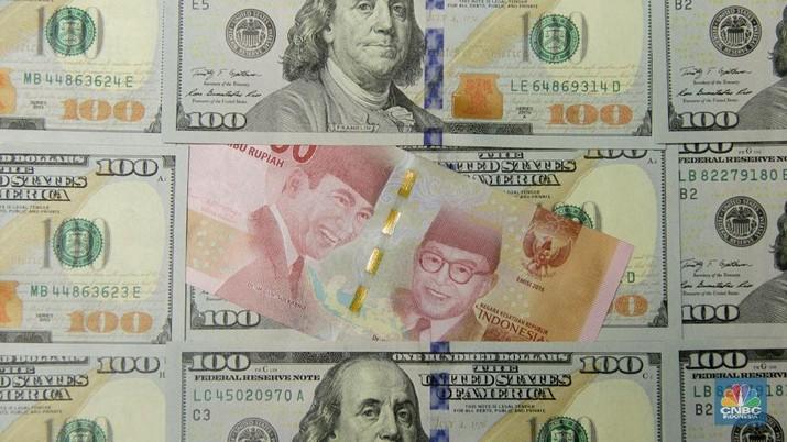 Penutupan Pasar: Rupiah Mantap Menguat ke Rp 14.230/US$