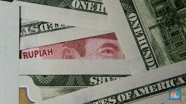 Ilustrasi Dollar Rupiah