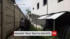 Mahasiswi UNDIP Tewas Terjatuh dari Lantai 8 Hotel