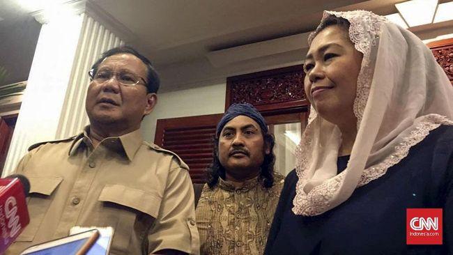 Yenny Wahid Tolak Pinangan Prabowo di Pilgub Jatim 2018