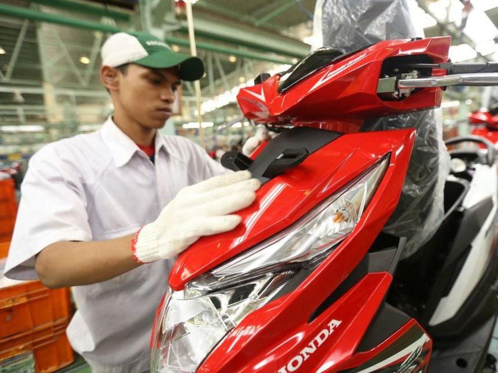 Honda BeAT Buatan Pabrik Cikarang Laris Manis di Luar Negeri