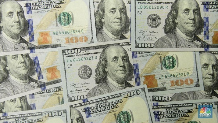 Rupiah Sedikit Melemah, Dolar AS Naik ke Rp 13.321/US$