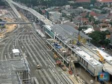 Proyek MRT Bundaran HI-Stasiun Kota Molor Sampai 2025