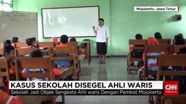 Isak Tangis Warnai Pemindahan Sekolah Objek Sengketa Hukum