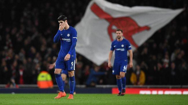 Conte Bela Morata yang Tampil Buruk Lawan Arsenal
