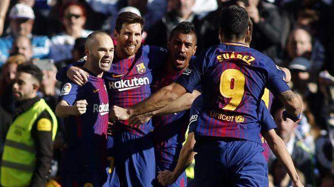 Barcelona Dinanti Berbagai Rekor di Akhir Musim