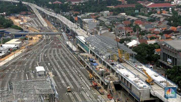 Delegasi AIIB melakukan kunjungan sepekan ke Indonesia, di antaranya untuk melihat proyek MRT Jakarta.