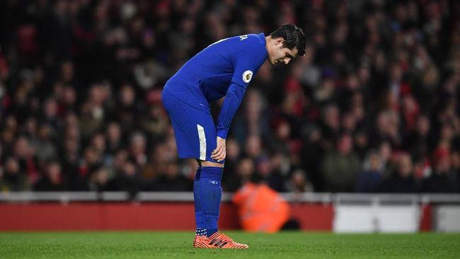 Morata Jadi Bahan Tertawaan Netizen Usai Arsenal vs Chelsea