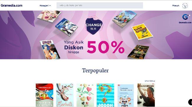 Pembeli Gramedia.com Protes, Buku Diskon Harbolnas Tak Sampai