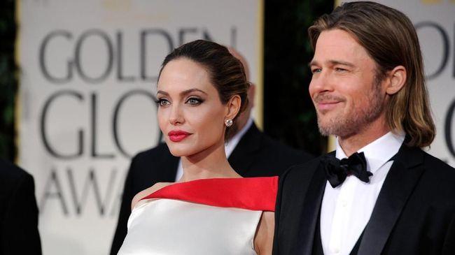 Brad Pitt Klaim Sudah Beri Nafkah Rp18 M untuk Jolie dan Anak
