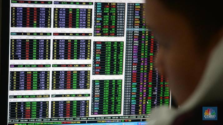 sebagian besar saham volatil dengan opsi