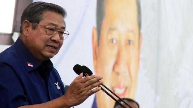 Setahun Jelang Pilpres, SBY Berharap Hukum Rimba Tak Berlaku