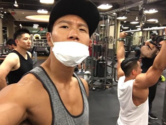 Kết quả hình ảnh cho kim jong kook gym