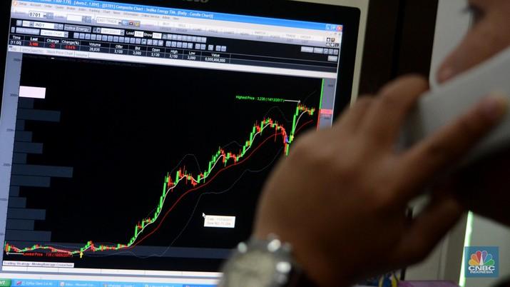 Bursa saham kawasan Asia, termasuk Indonesia, terlihat galau pada perdagangan terakhir di pekan ini.